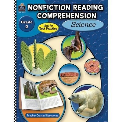 Teacher Created Resources Non-Fiction Reading Comprehension Science Activity Book Grade 2 144 Pages