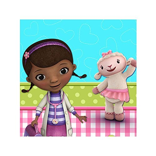 Hallmark Doc McStuffins Printed Plastic Tablecover]()