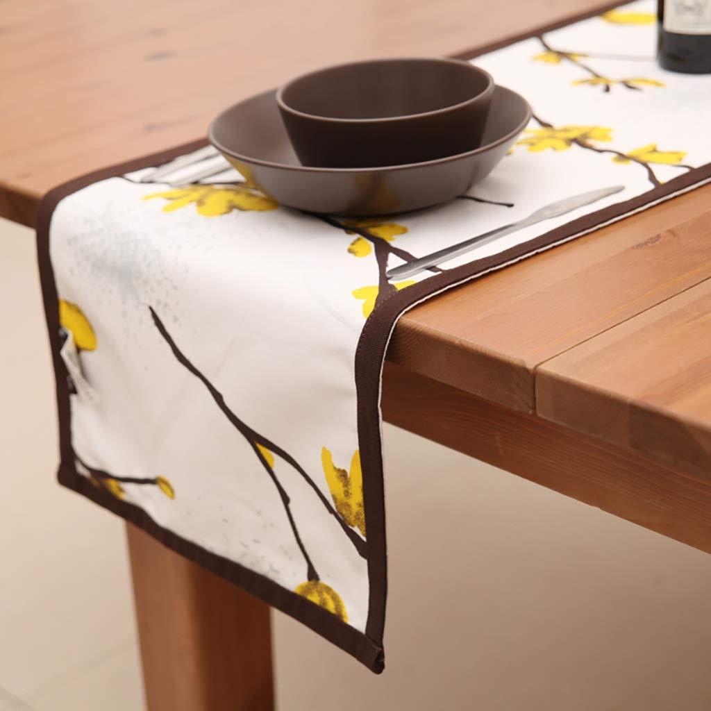 プレースマット テーブルクロス布地ノルディックテーブル盛り合わせティーテーブルテレビキャビネット布テーブル装飾布ストリップモダンシンプルダブルレイヤー (色 : 35*200センチメートル)  35*200センチメートル B07RHTR48F