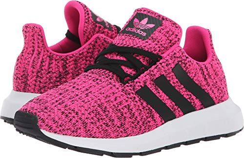 ac86a783fa61 Galleon - Adidas Originals Kids Girl s Swift Run C (Little Kid) Shock  Pink Black 1 M US Little Kid M