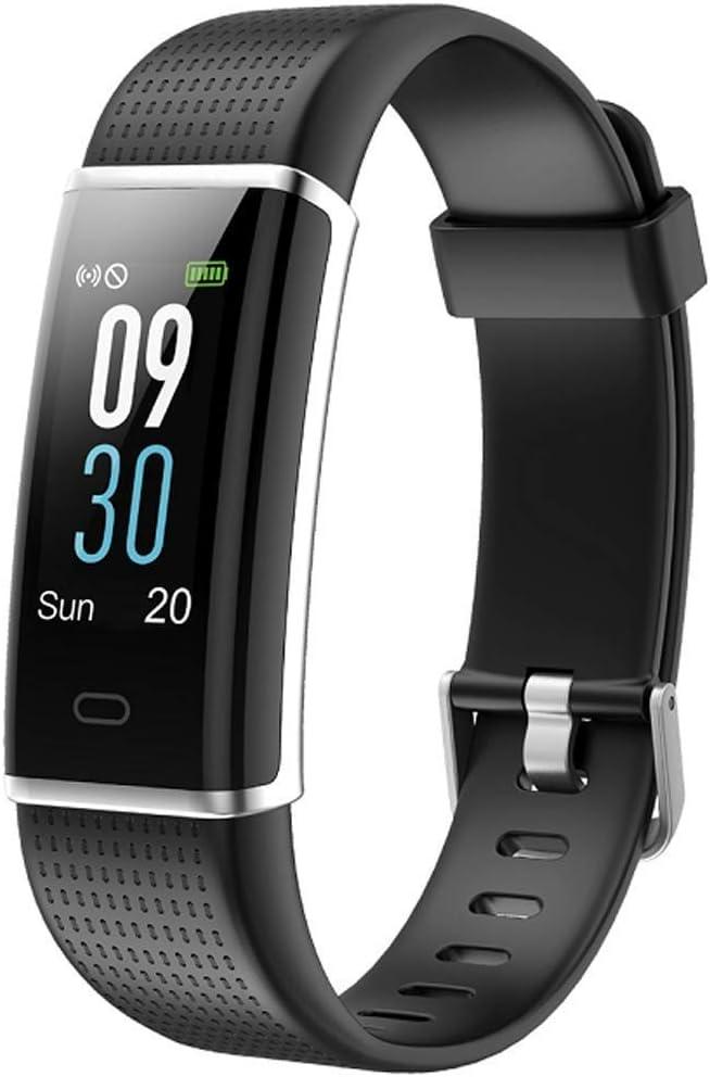 Willful Fitness Armband mit Pulsmesser,Wasserdicht IP68 Fitness Tracker Farbbildschirm Fitness Uhr Aktivitätstracker Schrittzähler Uhr Smartwatch Damen Herren Anruf SMS Beachten für iOS Android Handy 1