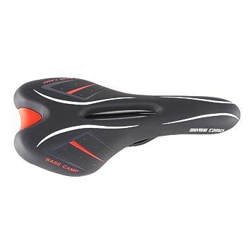 54cb4bd4199 BaseCamp Mountain Bike Bicycle Cycling Hollow Saddle Seat Cushion Black   Amazon.co.uk  Sports   Outdoors