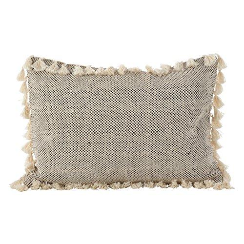SARO LIFESTYLE Moroccan Design Tassel Fringe Cotton Down Fil