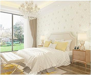 AuBergewohnlich Yosot Warm Romantischen Rosa Blume Tapete Schlafzimmer Wohnzimmer Mädchen  Vliestapeten Beige