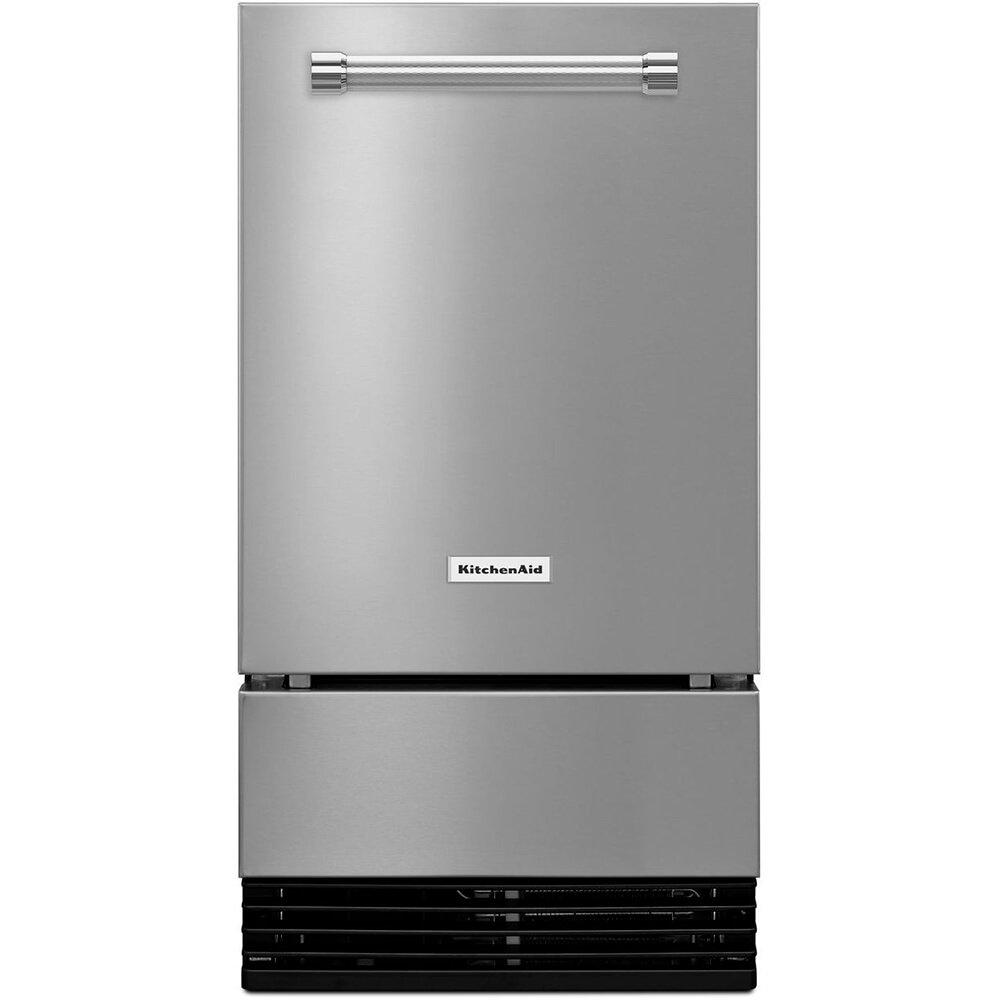 KitchenAid KUID508ESS 18 Stainless Automatic Ice Maker