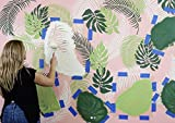 Palm Frond Wall Art Stencil - Wall Painting