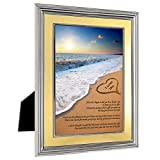 Wife Gift from Husband - Birthday, Anniversary or Christmas Love Poem Card in 5x7 Inch Frame