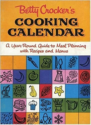 Free Betty Crocker 2021 Calendar Betty Crocker's Cooking Calendar: Betty Crocker: 9780470419632