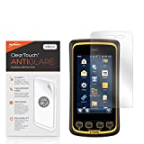 BoxWave Trimble Juno T41 Screen Protector, [ClearTouch Anti-Glare] Anti-Fingerprint, Scratch Proof Matte Film Shield for Trimble Juno T41