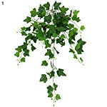 angel3292-Clearance-DealsArtificial-Plant1Pc-110cm-Hanging-Artificial-Fake-Ivy-Green-Leaves-Vine-Wedding-Party-Home-Decor
