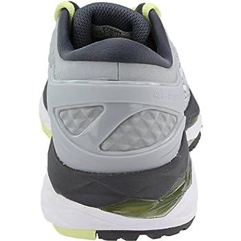 Asics Womens Gel-kayano 24 Glacier Greywhitecarbon Running Shoe - 10 2