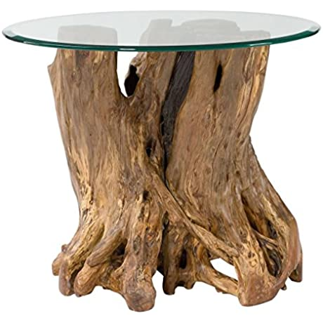 Hammary Root Ball End Table