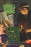 img - for Murder: Strictly Private book / textbook / text book