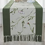 Chinese table runner/Modern and simple cotton bed scarves/Coffee table table flag-A 38x220cm(15x87inch)
