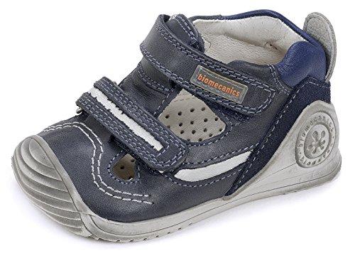 Biomecanics  172143, Chaussures souple pour bébé (garçon) bleu 21 EU