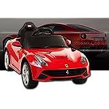 乗用ラジコン フェラーリ F12 [カラー:レッド] [81900]ベルリネッタ FERRARI F12 Berlinetta フェラーリ正規ライセンス品のハイクオリティ ペダルとプロポで操作可能な電動ラジコンカー 乗用玩具 子供が乗れるラジコンカー
