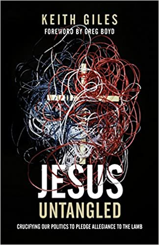 Jesus Untangled Crucifying Our Politics To Pledge Allegiance To The