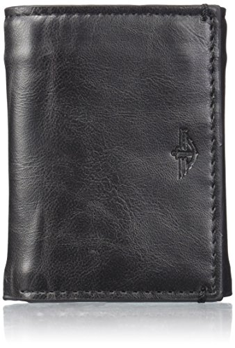 dockers-mens-trifold-wallet-with-interior-zipper-black-one-size