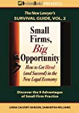 img - for Small Firms, Big Opportunity: How to Get Hired (and Succeed) in the New Legal Economy (The New Lawyer's Survival Guide) book / textbook / text book