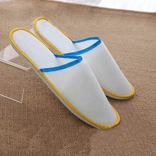 Zapatillas Antideslizantes El 50 color Baño Desechables Para Cómodas Pairs Unisex Hotel Spa Pairs Hogar Lss 100 a0RIqwdR