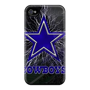 Premium Protection Dallas Cowboys Cases Covers For Iphone 6plus- Retail Packaging
