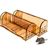 CaptSure Upgraded Humane Smart Mouse Trap