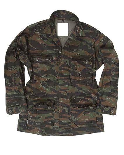 6c863886d6a12 Mil-Tec BDU Combat Chemise Tiger Stripe: Amazon.fr: Vêtements et accessoires