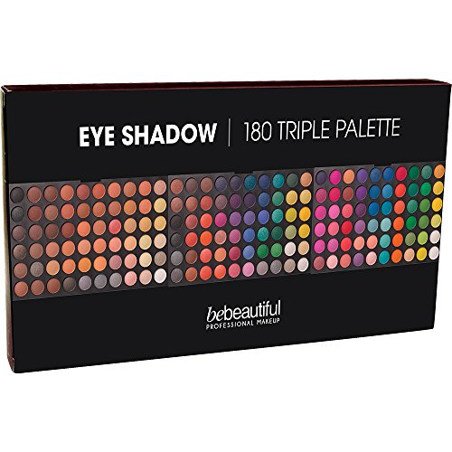 Bebeautiful Eyeshadow 180 Shades Palette, Ultimate (Professional Burlesque Costumes)