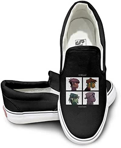 Gorillaz Demon Days Mens Casual Sneakers Shoes Classic Boat Shoes