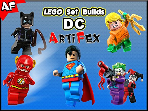 Clip: Lego Set Builds DC on Amazon Prime Video UK