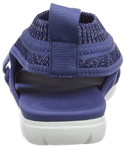 Blau Back FitFlop Blue Damen 564 Sandals Strap Indian Schwarz Uberknit Blue Powder Riemchensandalen pf0pBCx