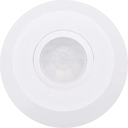 Amazon.com: Heron 430070 Ceiling Infrared Motion Detector Slim, White: Home Improvement