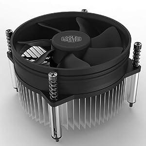 Cooler Master i50 CPU Cooler - 92mm Low Noise Cooling Fan & Heatsink(RH-I50-20FK-R1) - for Intel Socket LGA 1150/1151 / 1155/1156 (i50)