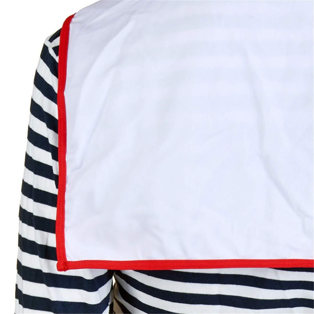 Sense-touch GCC Conjunto Conjunto Conjunto de Falda Plisada Sailor Pack Azul Marino, A, XXXL cc9678
