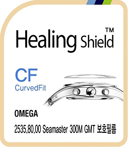 - Healingshield Screen Protector CV for Omega Watch 2535.80.00 Seamaster 300M GMT [Front 3pcs]