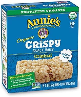 Granola & Protein Bars: Annie's Crispy Snack Bars