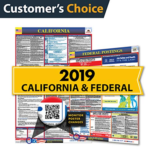 (Osha4less 2019 California Labor Law Posters (State & Federal) )
