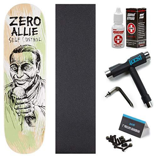 Zero Self Control Allie Skateboard Deck - 8.50