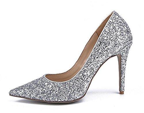 Alto Tacón Color Tacón Zapatos para Alto de 41 Diamond Mujer COLORDIAMOND XIE 37 de CqwtxwH