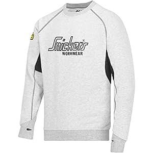 Snickers Workwear 2820 Sudadera, Gris (Grau/Schwarz), XXXL: Amazon.es: Bricolaje y herramientas
