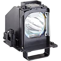 FI Lamps MITSUBISHI WD-73638_5877 Compatible with MITSUBISHI WD-73638 TV Replacement Lamp with Housing