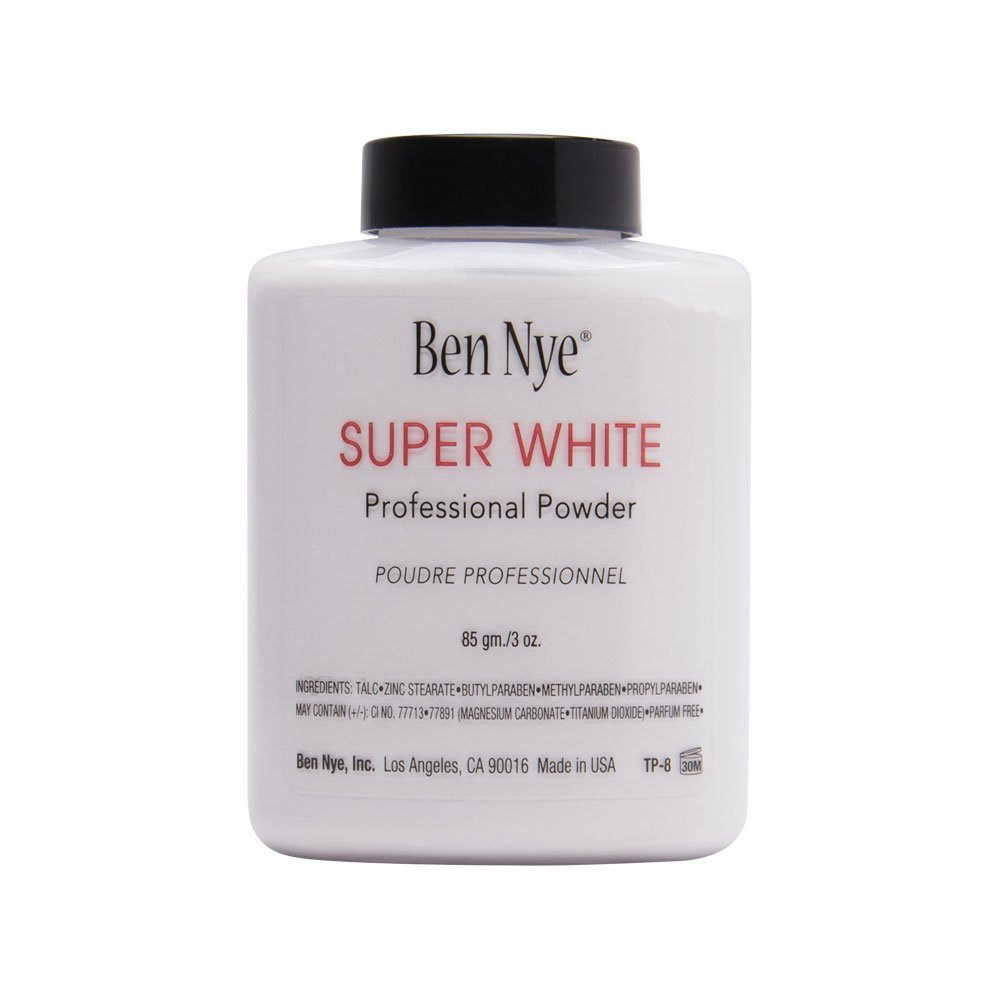 Face Powder, Super White 3oz Shaker Bottle
