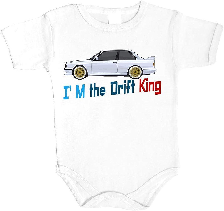 Baby Body I am Drift King Fastest Car Auto Babykleidung Strampler Unterw/äsche Best Weihnacht Geschenk