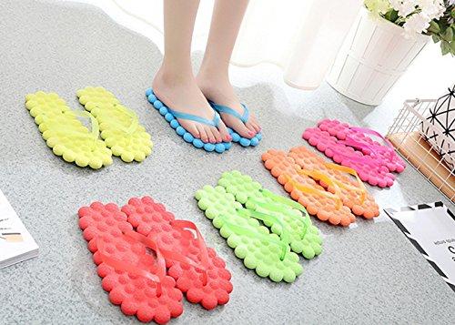 GR Zapatillas para mujeres y chicas, Zapatillas de masaje, Zapatillas de playa hechas por EVA Rose