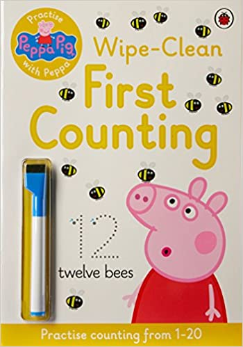 305aeafa97a Peppa Pig  Practise with Peppa  Wipe-Clean Counting Paperback – 2 Jul 2015