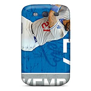 Samsung Galaxy S3 Uyk6751xOIY Provide Private Custom Colorful Los Angeles Dodgers Image Protective Phone Covers -CharlesPoirier