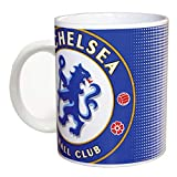 Spot On Gifts Football Club Halftone Ceramic Mug (One Size) (Chelsea)