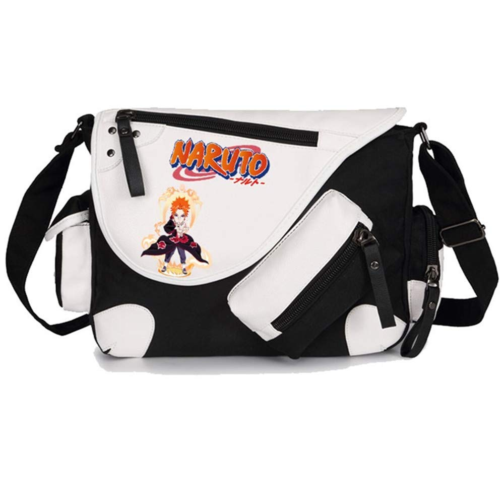 GO2COSY Anime Naruto Messenger Bag Crossbody Handbag Backpack Tote Bag Student Bag Shoulder Bag
