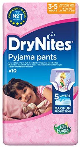 3–5 Pantalon 10 nbsp;x 3 Drynites nbsp;pyjama Fille nbsp;ans E0AwqxB