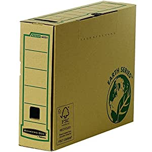 Fellowes Bankers Box Earth Series - Caja archivadora (80mm, A4, 20 unidades)